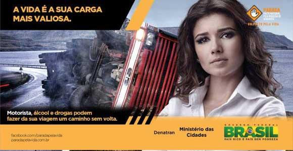 Campanha de trânsito - Brasil