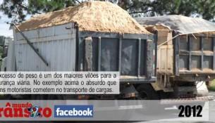 Mundo Trânsito no Facebook - Excesso de peso