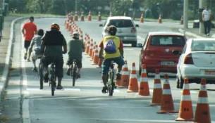 Ciclistas e motoristas